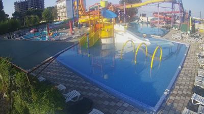 Веб камера аквапарка в Гагре