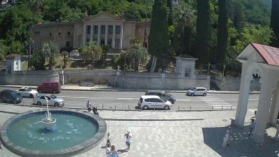 Веб камера Колоннада в Гагре